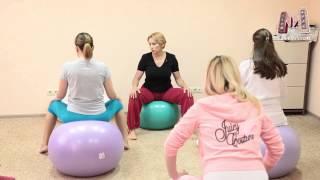 видео упражнения на фитболе для беременных 3 триместр