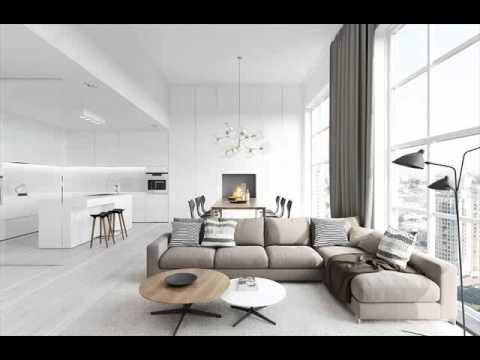 Interior Ruang Tamu Besar Desain Minimalis Millane Fernandez