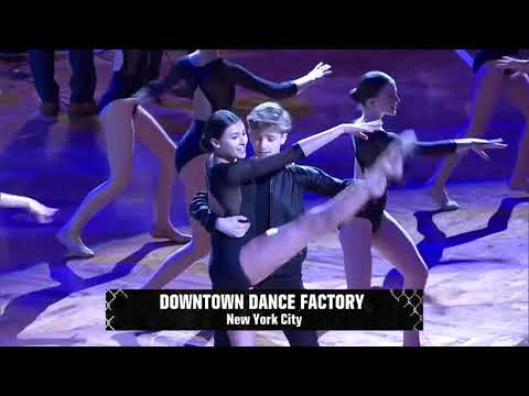 Downtown Dance Factory at Brooklyn Nets NBA Game 13 March 2018