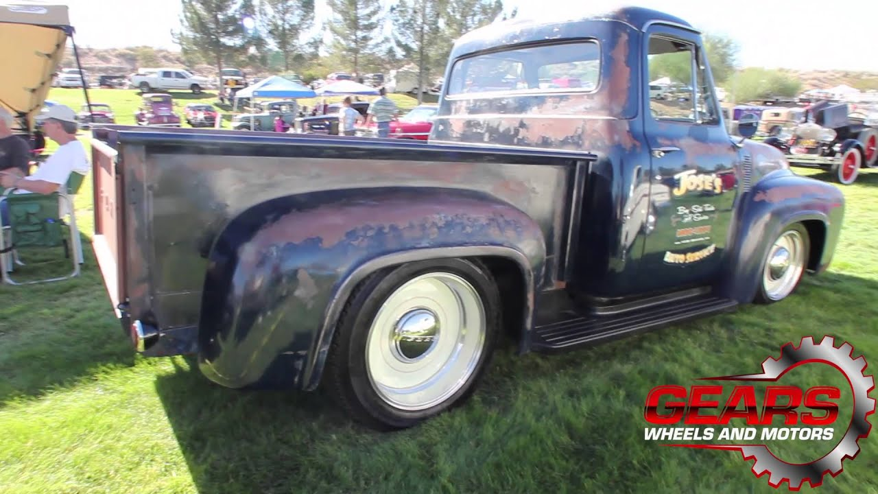 1955 Ford Truck Gears Wheels And Motors Youtube F350