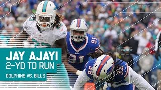 Jay Ajayi Breaks Off a Big Run & Stiff Arms His Way to a TD! | NFL Week 16 Highlights