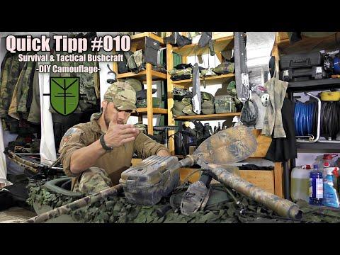 Camouflage DIY für Survival, Prepper & Tactical Bushcrafting  -