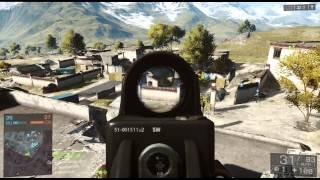 Battlefield 4 : Golmud Railway : Team Deathmatch : Playstation 3