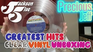 The Jackson 5 - Greatest Hits (Clear Vinyl) [UNBOXING]