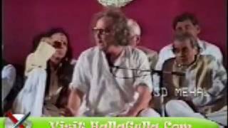 Mazahiya Mushaira Saghar Khayami Funny HallaGulla Com Part 1