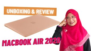 MACBOOK AIR 2020 REVIEW \u0026 UNBOXING
