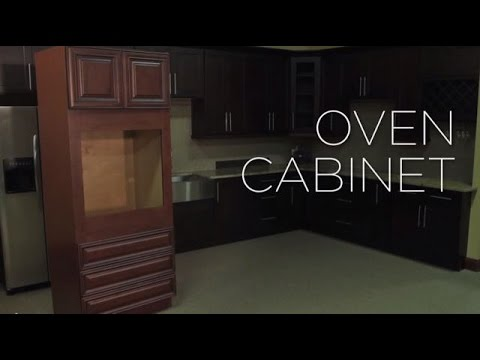 How To Assemble An RTA Oven Cabinet