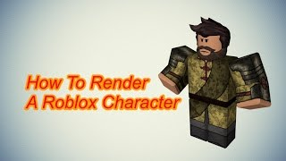 How To Render A Roblox Character In Cinema 4D