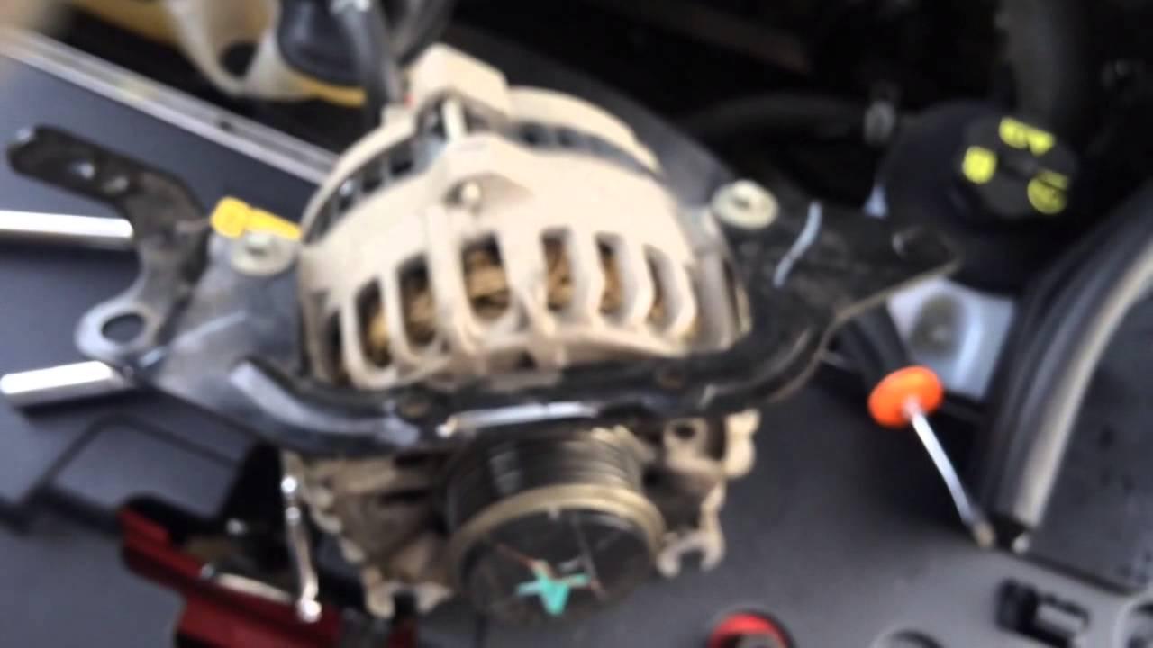 2006 Mustang Gt Alternator Install