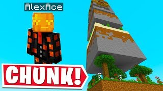 ALL OF MINECRAFT BUT ON ONE CHUNK..