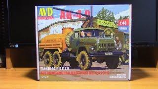 Збірна модель Зіл 131 автоцисцерна АЦ 4,0 AVD models