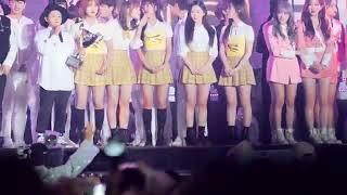 [180404] 워나원 Wanna One winner @Ulsan Show Champion + Oh My Girls and WJSN fancam