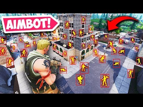 WHEN HACKERS USE AIMBOT...!! - Fortnite Funny Fails and WTF Moments! #418