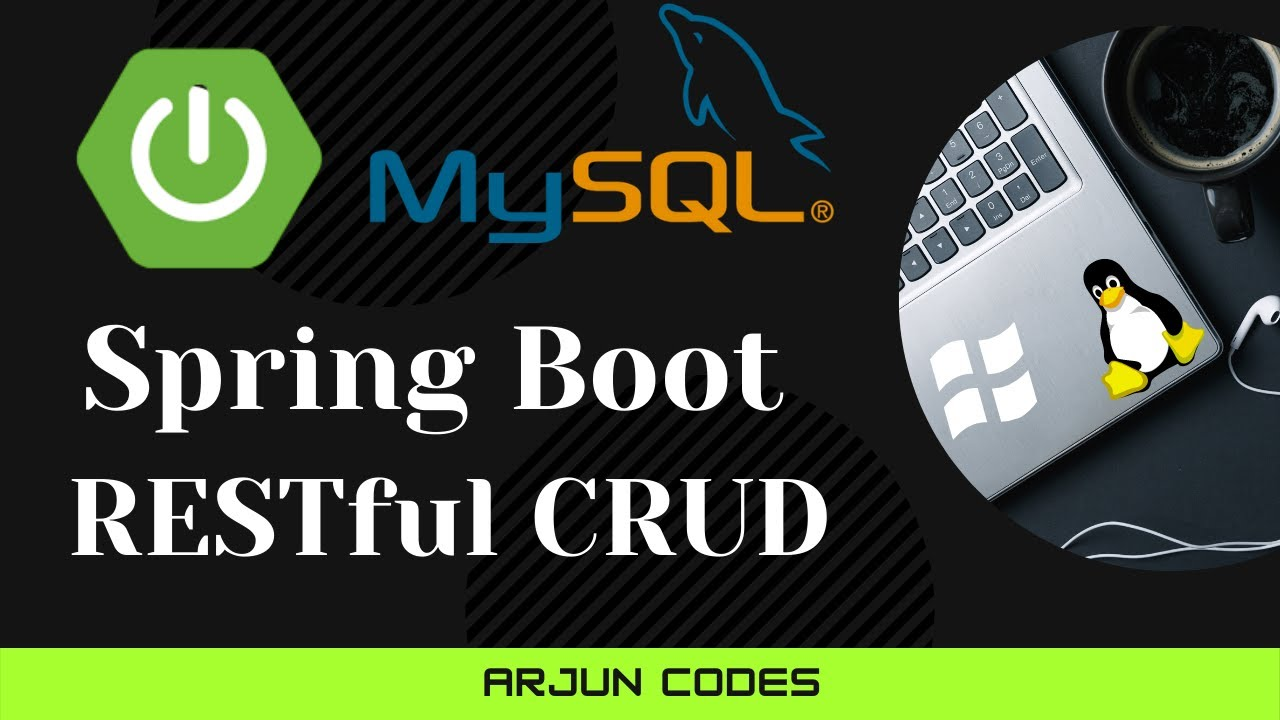 Spring Boot RESTful CRUD Web Services API Examples with MySQL database, JPA
