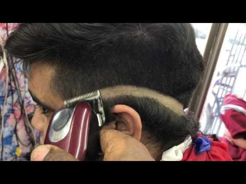 Hc barber shop cómo hacer un fade tipo v con navaja explicado paso a paso