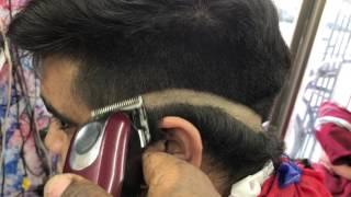 hc barber shop cmo hacer un fade tipo v con navaja explicado paso a paso