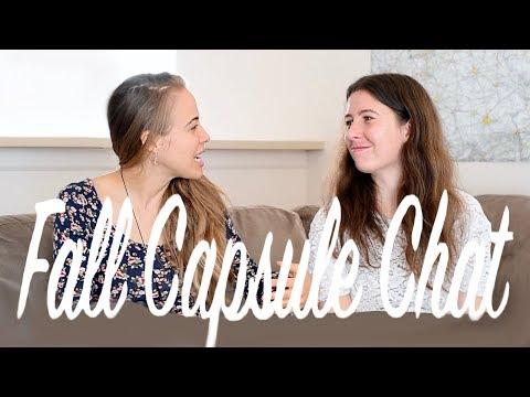CAPSULE DRESSING | 2017 Fall Capsule Wardrobe Chat