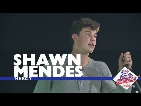 Shawn Mendes - Mercy  At Capitals Jingle Bell Ball