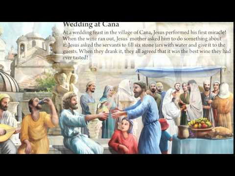 15.  Wedding at Cana - Bible story for children