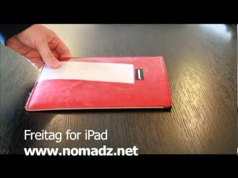 Freitag case for iPad