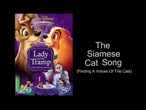 The Siamese Cat Song (Finding A Voice Of The Cats)