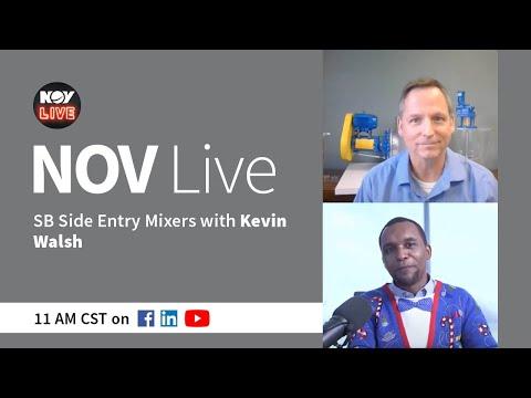 NOV Live | SB Side Entry Mixers