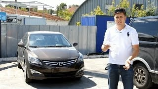Новый Hyundai Solaris (2015) Обзор. Anton Avtoman.