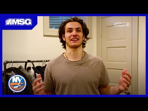 Mat Barzal Lives in Dennis Seidenberg's Basement | Beginnings | New York Islanders | MSG Networks