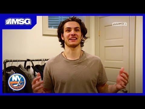 Mat Barzal Lives in Dennis Seidenberg's Basement | Beginnings | New York Islanders | MSG Networks