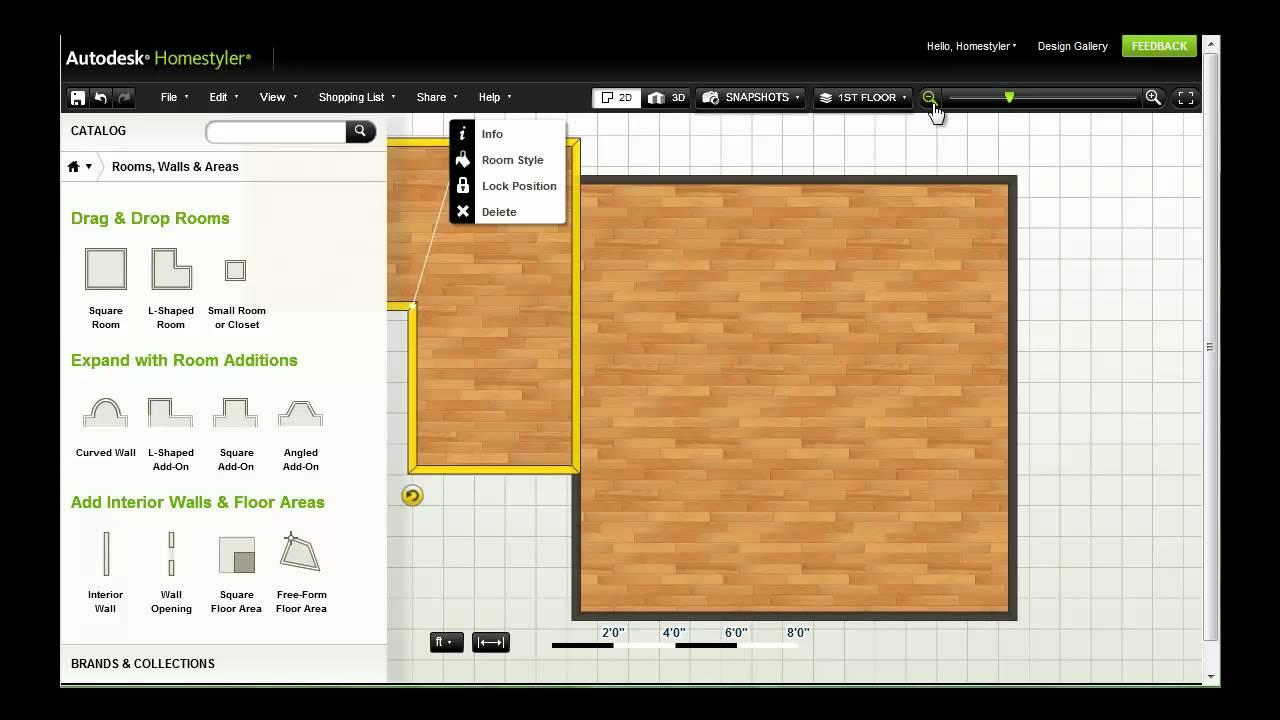 Autodesk Homestyler — Start Designing - YouTube