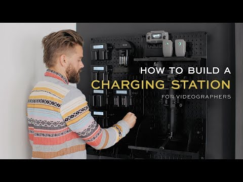 How To Build A Custom Charging Station For Videographers