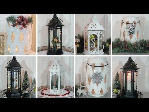 Christmas Lantern Decorating Ideas | Lantern Lookbook