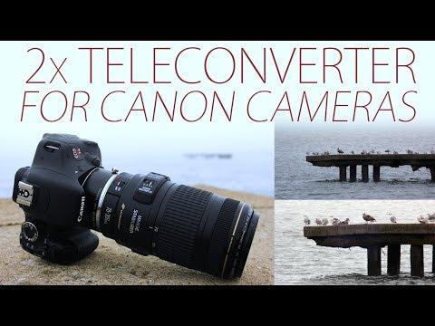 2x Teleconverter for Canon Cameras: Double Your Focal Length!