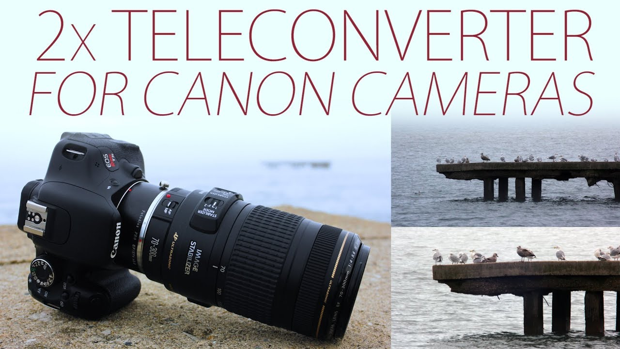 2x Teleconverter for Canon Cameras: Double Your Focal Length!