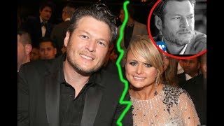 'I Lost My Wife' Blake Shelton Reveals Upcoming Album Is Partially About Ex Miranda Lambert