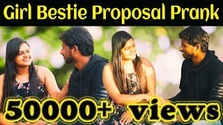 Girl Bestie Romantic Love Proposal Prank | Prankster Suresh | Ka Ka Ka Po