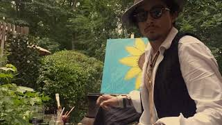 "Paint with Johnny * Featuring ""My Sunshine painting"" NEW Video"