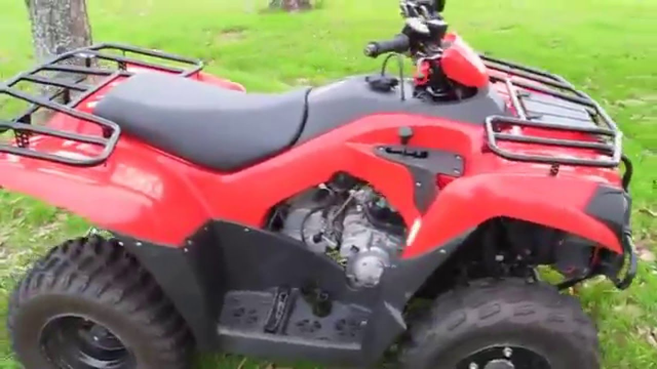 2014 kawasaki brute force, 300 comes with a winch - youtube