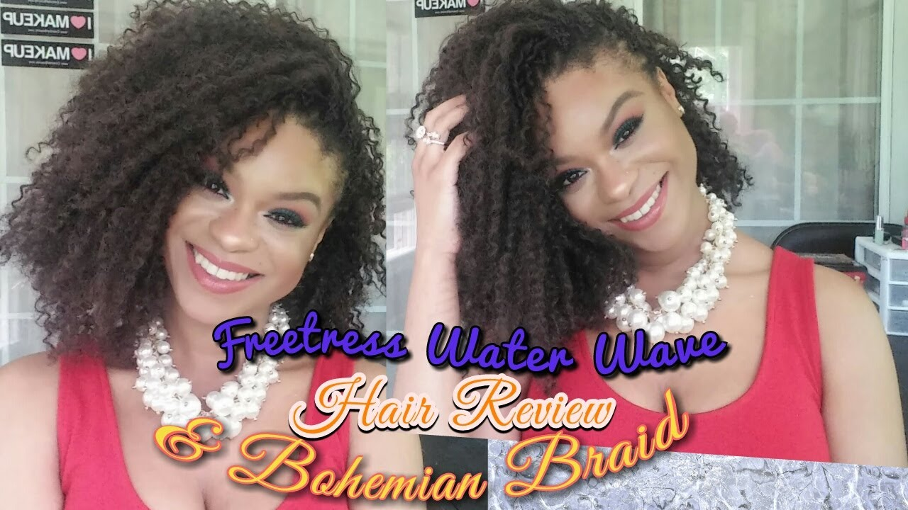 Freetress Water Wave Bohemian Curl Hair Review Care Tips