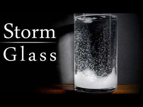 How to make a STORM GLASS to predict the weather!