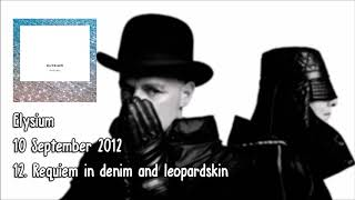 Pet Shop Boys - Requiem in denim and leopard skin