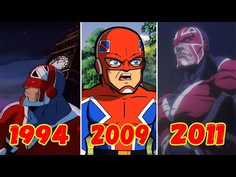 Эволюция Капитана Британии (1994-2011)
