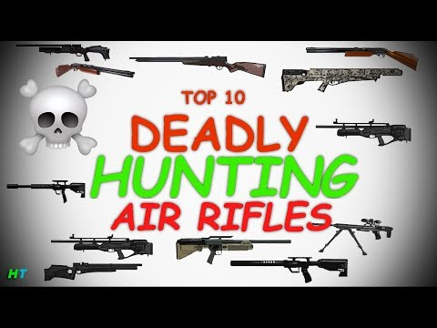 Top 10 Best Deadliest Hunting Air Rifles/Air Guns 2018 Hunting PCP! Hunter Tom