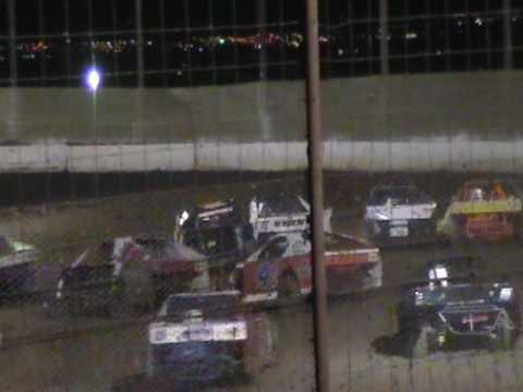 May 29, 2010 Dirt Modified race Prescott Valley, AZ