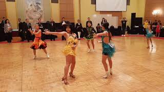 2018 제1회 WCDA World Junior Dance Championship  U12 Solo Latin 1dance Chachacha
