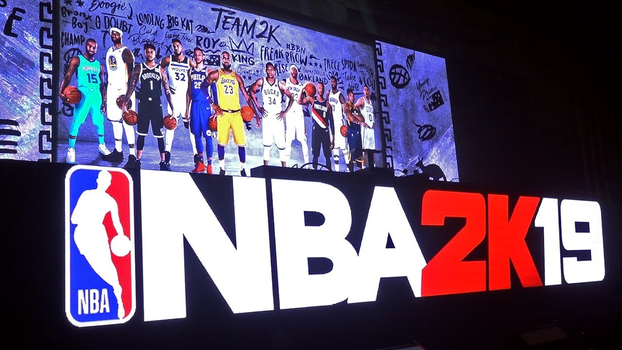 NBA 2K19 Preview Event in NYC! #NBA2K19 [Video