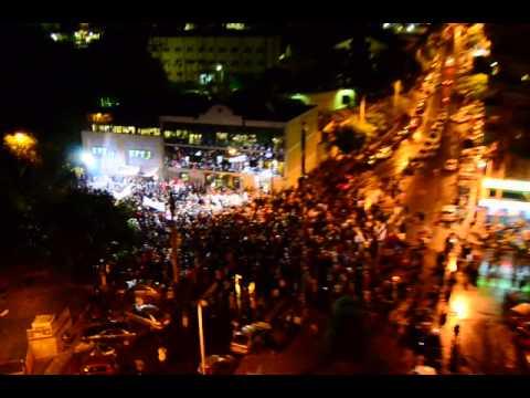 ERT shut down by govt - ET3 solidarity protest