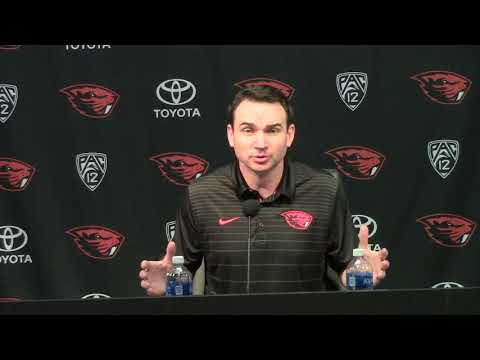 Oregon State Head Coach Jonathan Smith Talks First Signing Class
