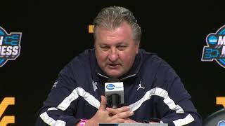 BlueGoldNews.com: Bob Huggins Jevon Carter Daxter Miles Esa Ahmad NCAA Tournament 3/22/18