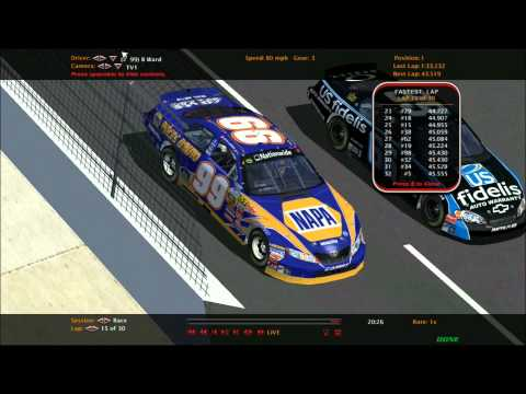 PORWC In The Zone Autozone Nationwide series race 10 at Nevada The Carquest 250